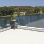 Glas-Railing für die Dachterrasse