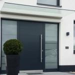 Vordach mit Wandklemmprofil Plan D V01561