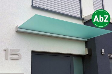 freitragendes Vordach Plan Five mit AbZ