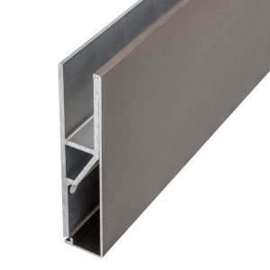 Aluminiumprofil Faccia für die vorgesetzte Montage