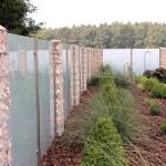 Windschutz und Zaun in einem