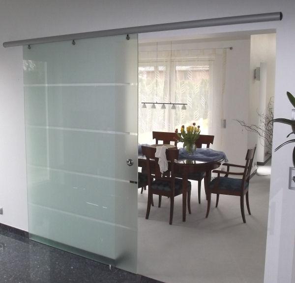 Glasschiebeturen Panther Glas