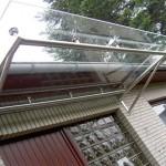 durchgehender Rohrrahmen für breite Überdachungen