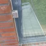Franz Balkon mit Glas und Klemmen-Befestigung