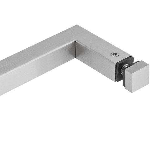 eckiges Design Handtuchhalter P66