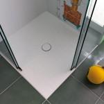 praktischer Eckeinstieg bei der Schiebetür-Dusche Luna