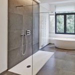 moderne Walk In Dusche