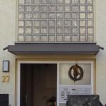 Beispiel eines alten Vordaches in ähnlicher Form wie Vordach Luis