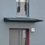 Moderne Form und einfache Montage beim Glasdach Cesto