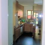 Trennwand zwischen Flur und Küche