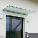 zusätzliche Regenrinne an der Glasvorderkante
