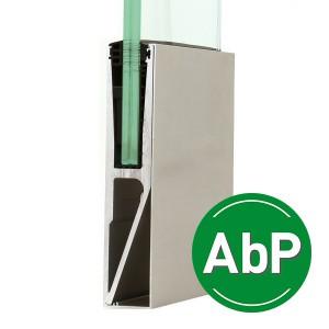 Aluminium-Profil zur stirnseitigen Montage