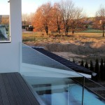 Klarglas für Balkonbrüstung -B00554