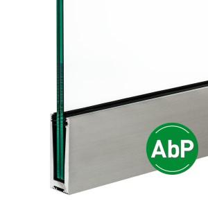 Aluminium-Profil für die vorgesetzte Montage