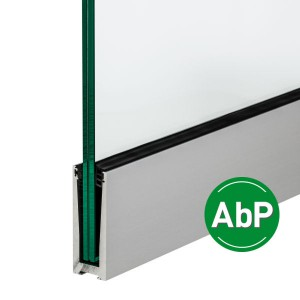 Aluminium-Profil für die aufgesetzte Montage