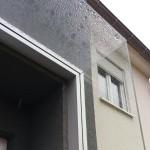 nahtloser Übergang Vordach und Seitenwindschutz