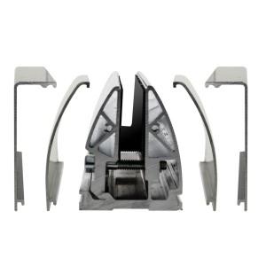 Serrato Profil kann mit ovaler oder eckiger Abdeckung gewählt werden