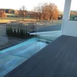 Glas-Railing mit Klarglas für maximale Transparenz